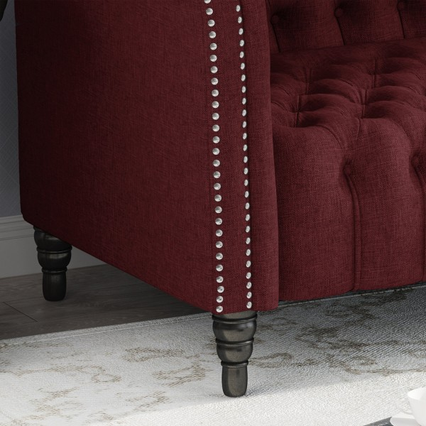 Capps 3 Seater Chesterfield Sofa