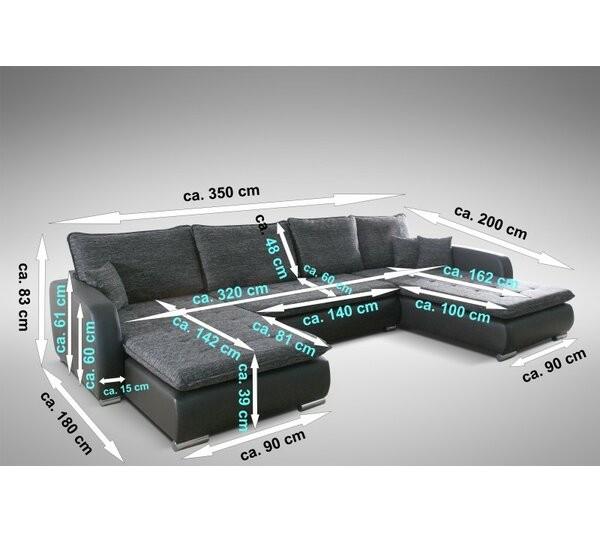 Aysen Corner Sofa Bed
