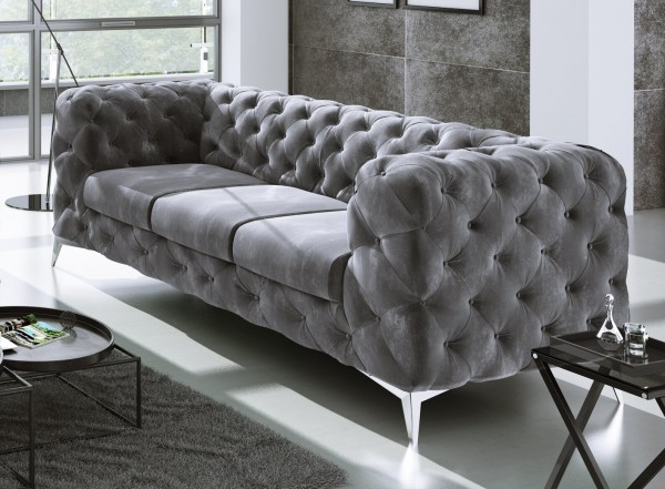 Rocky 3 Seater Chesterfield Sofa
