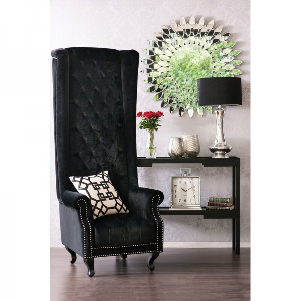 Tall Porter Wingback Chair