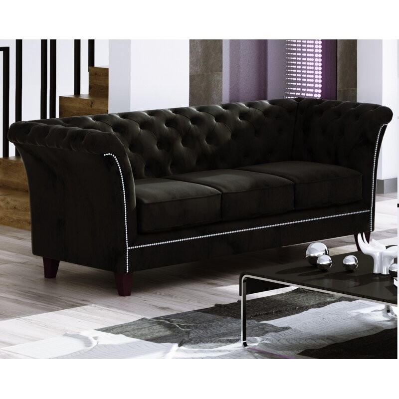 Legault 3 Seater Chesterfield Sofa