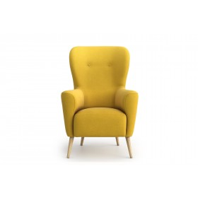 Adeline 53Cm Wide Tufted Wingback Chair