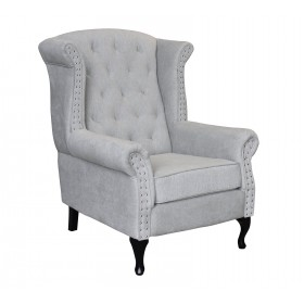 Gustin 82Cm Wide Tufted Wingback Chair