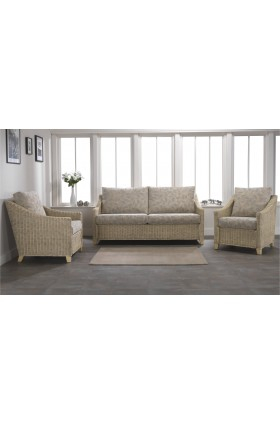 Cavaillon 3 Piece Conservatory Sofa Set