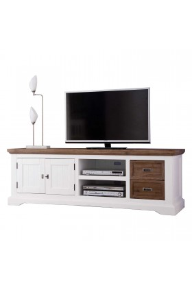 """Magnolia Solid Wood TV Stand for TVs up to 78"""""""