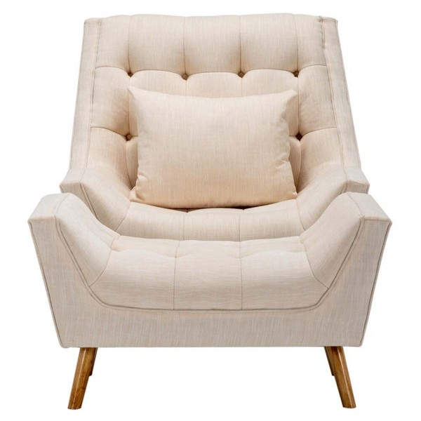 Lydie Armchair and Footstool